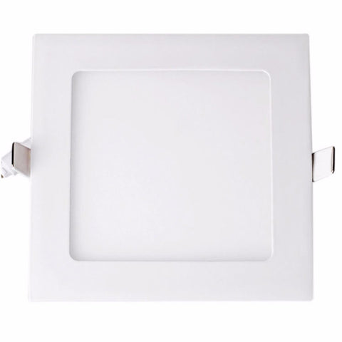 "LED Downlight BUDGET 4"" 6W NIPIS SQUARE THIN PANEL DOWNLIGHT NSQ01 - Ezzolights.com"