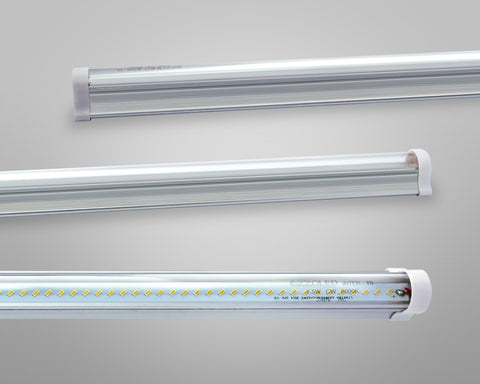 LED Tubes T5-SD2F 2FT 6W 8W 9W T5 DETACHABLE INTEGRATED LED TUBE FROSTED COVER (SET OF 10) - Ezzolights.com