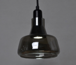 Ceiling Light Fixture ZODYN EUROPEAN GLASS SHADOW PENDANT LIGHT - Ezzolights.com