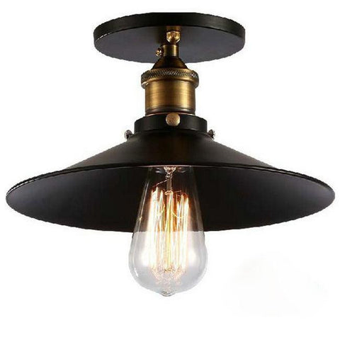 Ceiling Light Fixture ZODYN RETRO RUSTIC IRON CLASSIC PENDANT LIGHT - Ezzolights.com