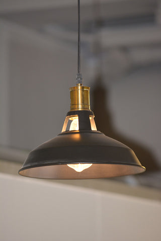 Ceiling Light Fixture ZODYN CLASSIC BRONZE BOWL PENDANT LIGHT - Ezzolights.com