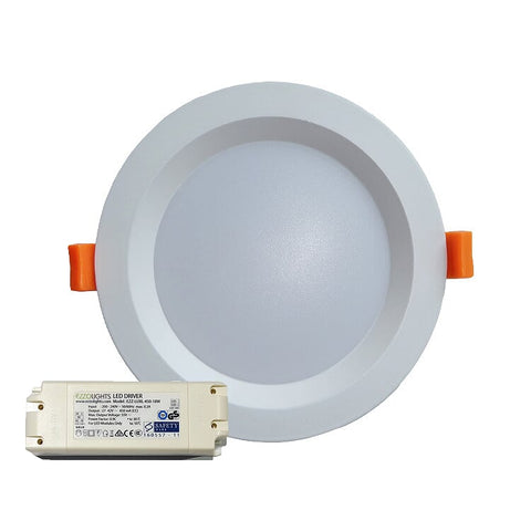 LED Downlight POLLUX ROUND RECESSED LED DOWNLIGHT - Ezzolights.com
