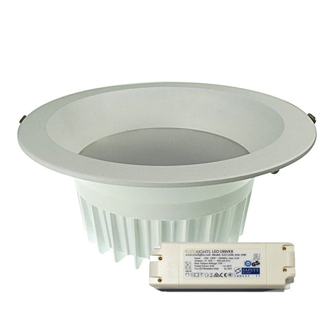 LED Downlight AGRA ROUND DEEP RECESSED LED DOWNLIGHT - Ezzolights.com