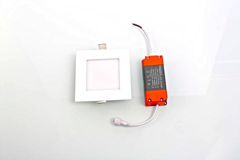 LED Downlight TRICOL SQUARE RECESSED LED DOWNLIGHT WITH 3 CCT CHANGEABLE - Ezzolights.com