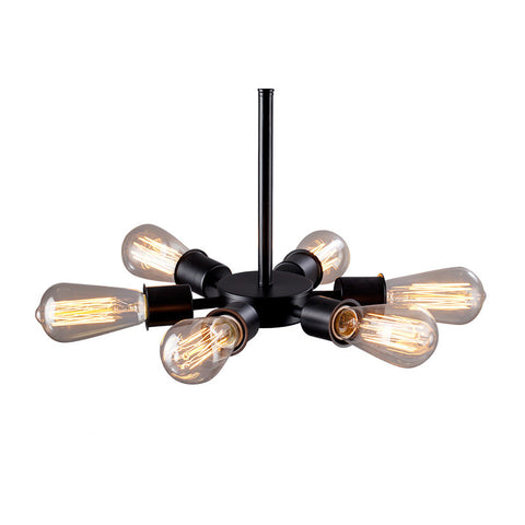 Ceiling Light Fixture ZODYN IRON FERRIS WHEEL CEILING LIGHT - Ezzolights.com