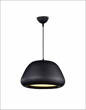 Ceiling Light Fixture ZODYN MATTE BLACK PENDANT LIGHT - Ezzolights.com