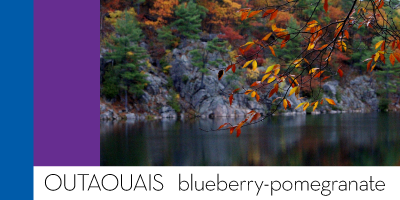 Outaouais — blueberry-pomegranate