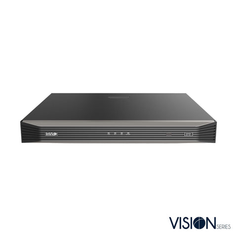 16 Channel IP NVR with 16 plug and play ports