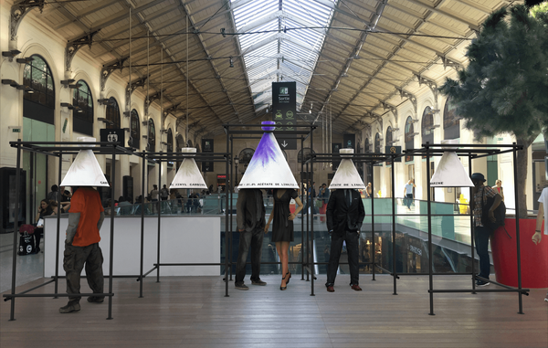 Olfactory Art Installed at Paris Saint-Lazare