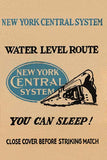 New York Central System Water Level Route