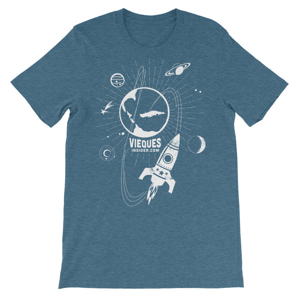Rocket Vieques Unisex short sleeve t-shirt