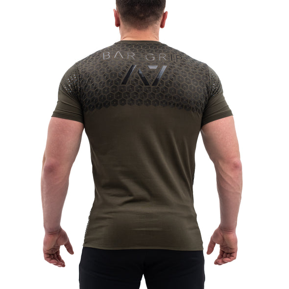 Strongman Hex Bar Grip Men's Shirt