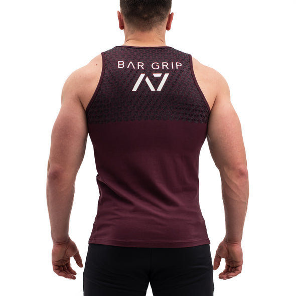 Intertwined Bar Grip Men's Tank