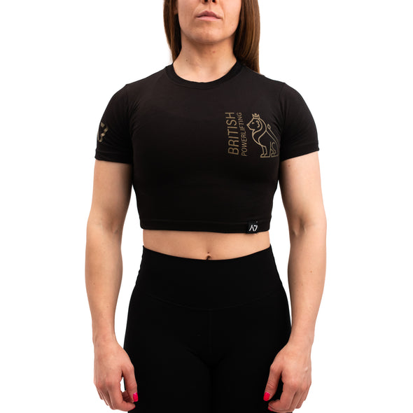 Gold Britannia Bar Grip Women's Crop