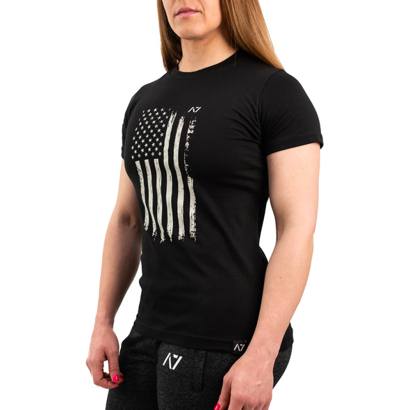 Patriot B&W Bar Grip Women's Shirt