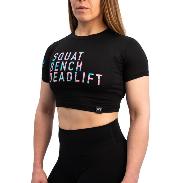 Swirl Bar Grip Women's Crop