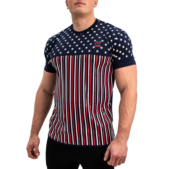 Americana Strongman Bar Grip Men's Shirt