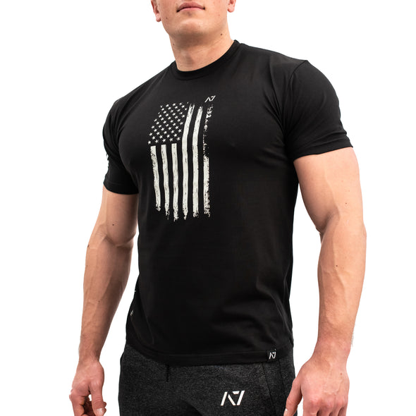 Patriot B&W Bar Grip Men's Shirt