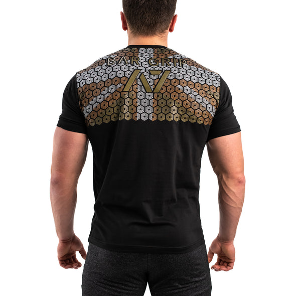 Gold Britannia Bar Grip Men's Shirt