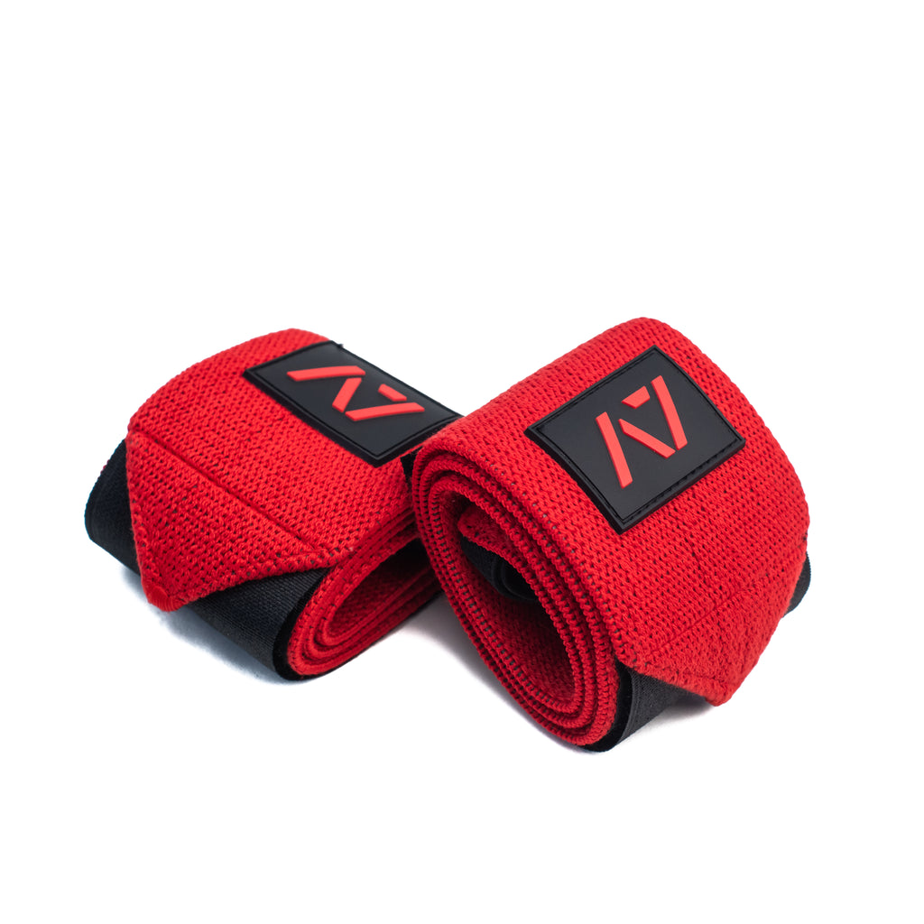 A7 Wrist Wraps - Flex - USPA & IPF Approved - Inferno