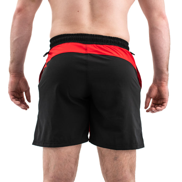 Men's Center-stretch Squat Shorts - Inferno