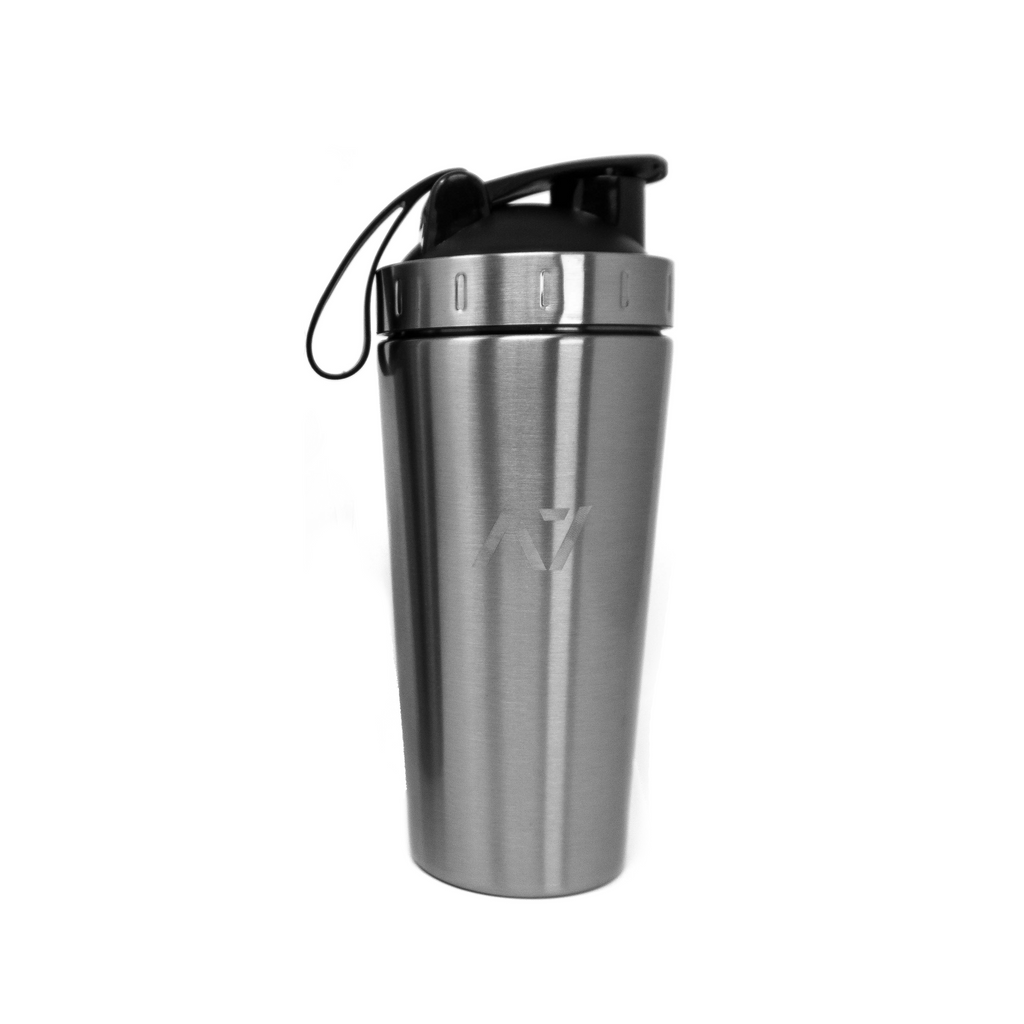 A7 Stainless Steel Shaker with Window - Silver
