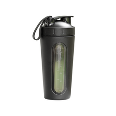 A7 Stainless Steel Shaker with Window - Matte Black