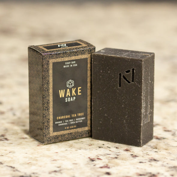 Wake Soap - Charcoal Tea Tree