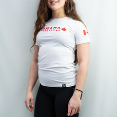 Canada Powerlifting Bar Grip Women's Shirt