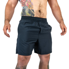 Men's Center-stretch Squat Shorts - Night Owl