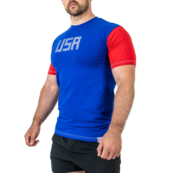 USA RWB Bar Grip Men's Shirt