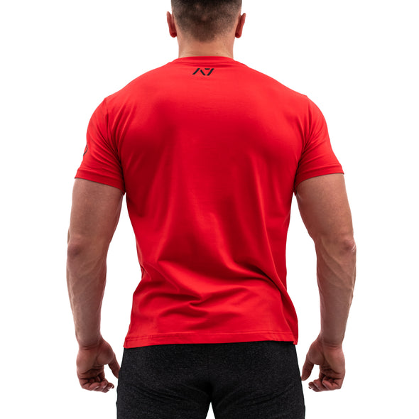 Demand Greatness IPF Approved Logo Men's Meet Shirt - Red