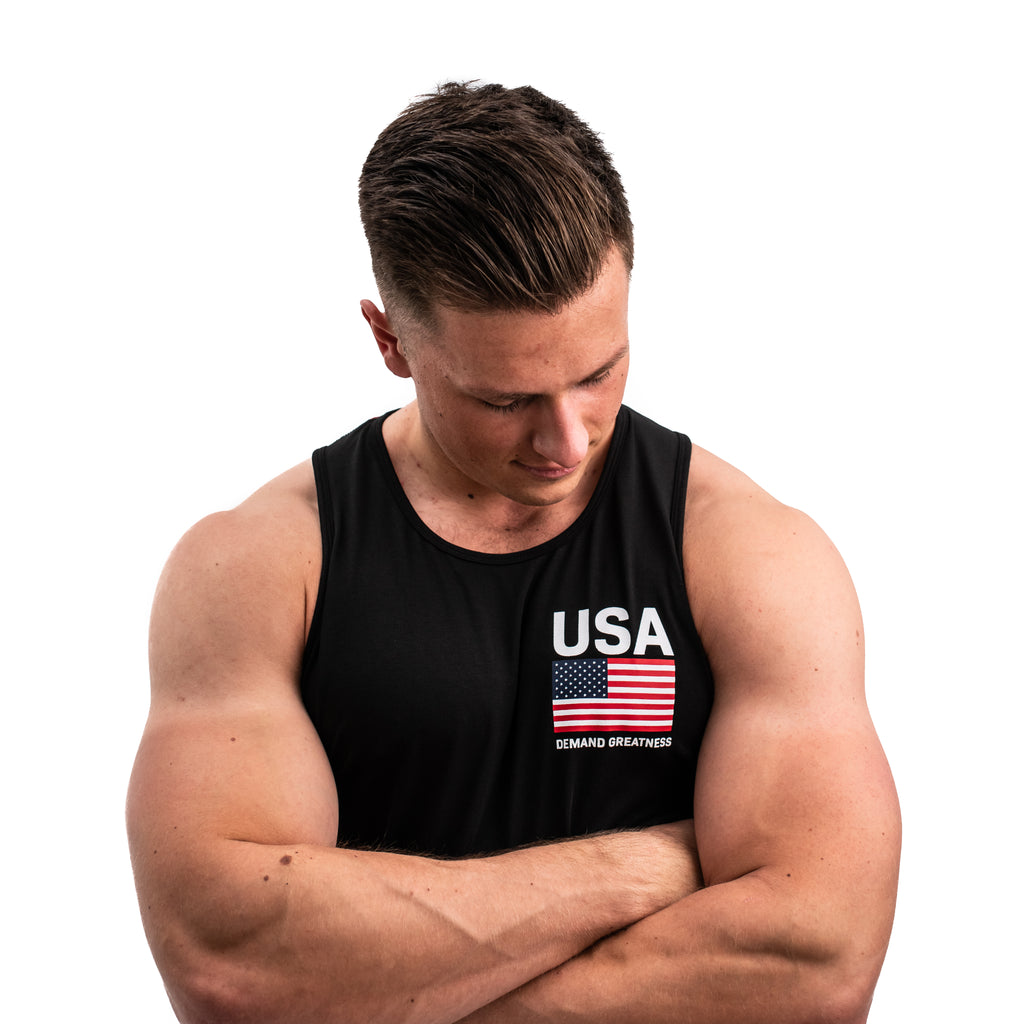 Patriot Bar Grip Men's Tank