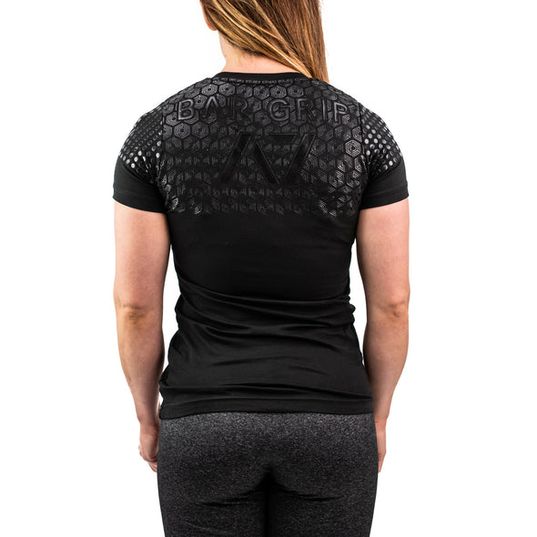 Front Squat Black Bar Grip Women's Shirt