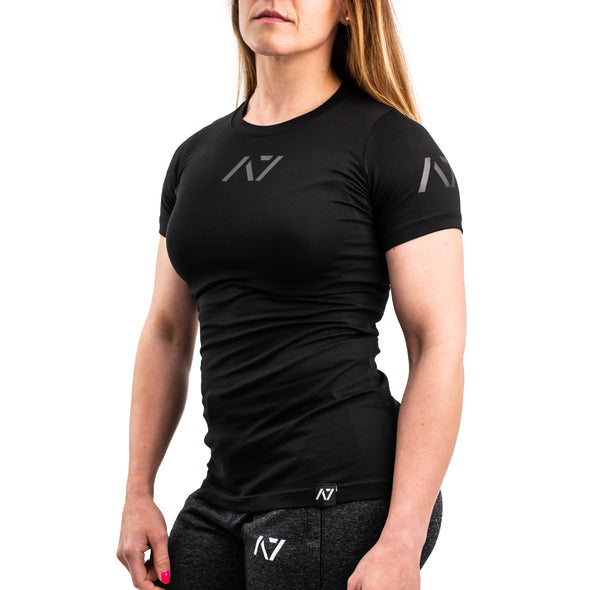 IPF Approved Logo Meet Women's Shirt - Stealth