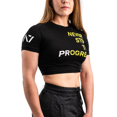 Progress Bar Grip Women's Crop