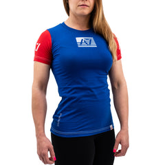 Flag RWB Meet Women's Shirt