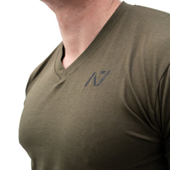 Military V-neck Men's Shirt