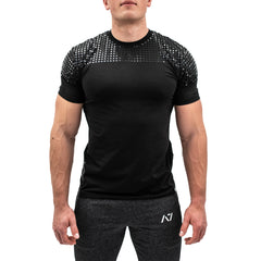 Front Squat Black Bar Grip Men's Shirt