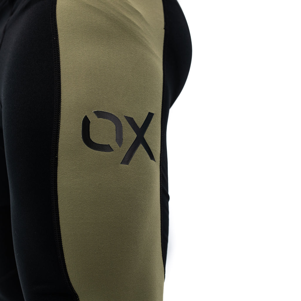 Ox Men's Compression Pants - Olive