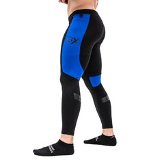 Ox Men's Compression Pants - Royal
