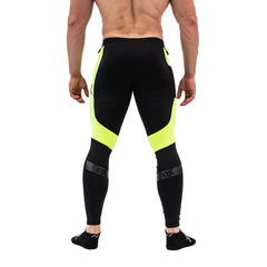 Ox Men's Compression Pants - Neon
