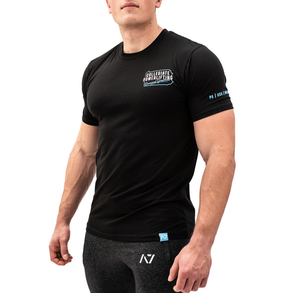 Collegiate Powerlifting Bar Grip Men's Shirt