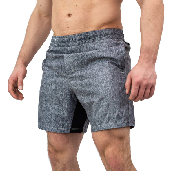 Men's Center-stretch Squat Shorts - Static