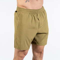Men's Center-stretch Squat Shorts - Olive