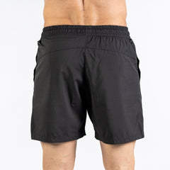 Men's Center-stretch Squat Shorts - Black