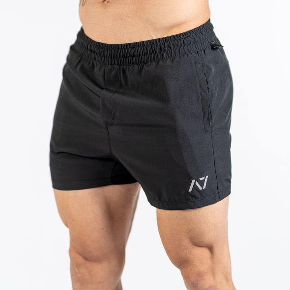 KWD Men's Squat Shorts - Black