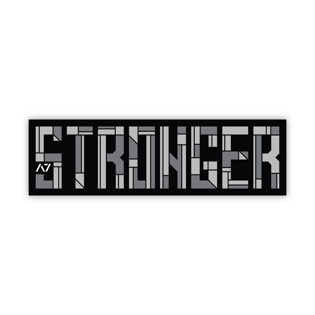 Build Stronger Sticker