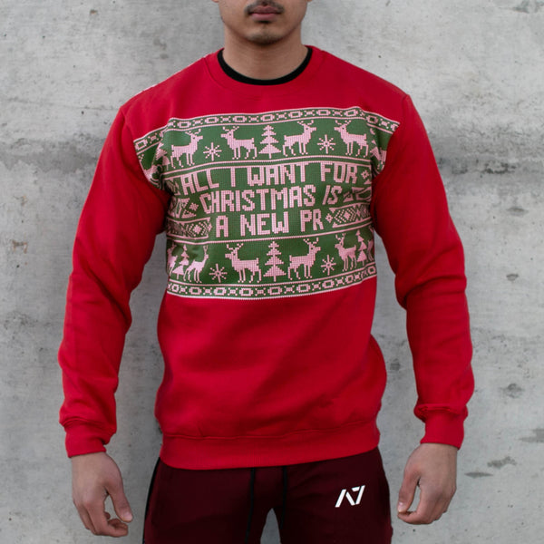 Ugly Christmas Bar Grip Crew Neck