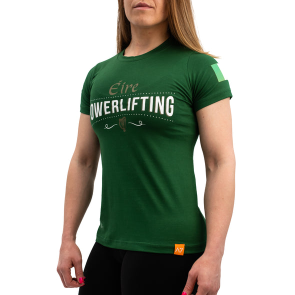 Irish Powerlifting Bar Grip Women's Shirt